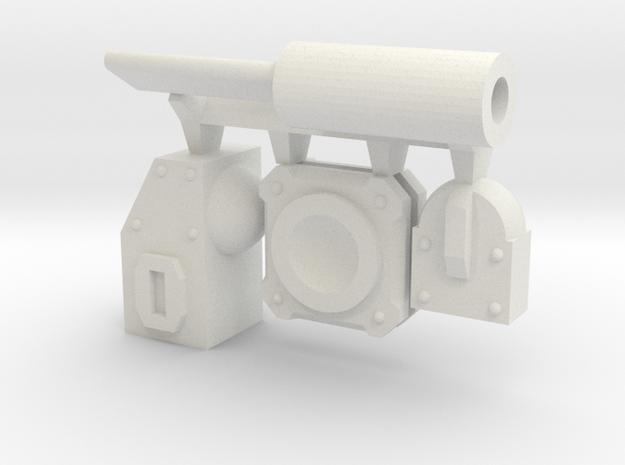 Modular Piston in White Strong & Flexible