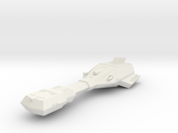 3125 Scale Trobrin Deep Space Dreadnought (DSN) MG in White Natural Versatile Plastic