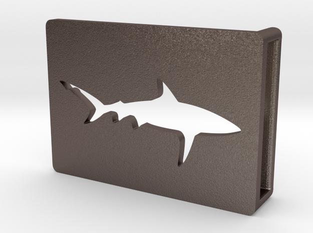 Belt Buckle - Shark - M1SE in Stainless Steel