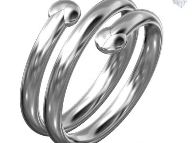 small hand ring 3d printed Description