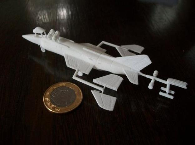 010A Yak-38 Forger 1/144 3d printed Printed in WSF