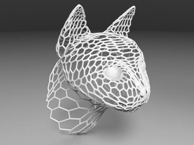 Voronoi Cat head