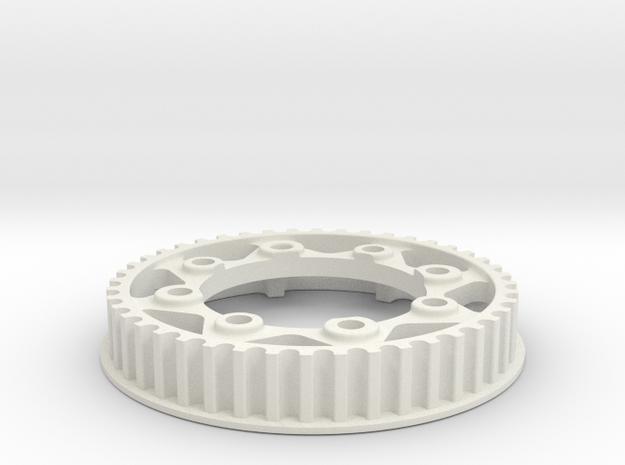 PULLEY 44T NUOVA FAOR T15 / EVO in White Natural Versatile Plastic