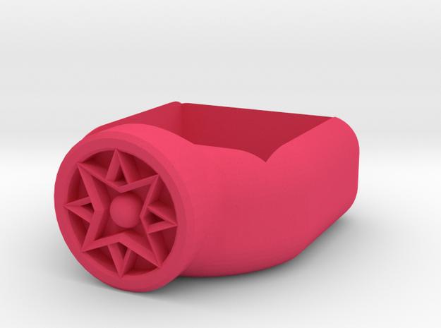 Star Sapphire Corps Chalk Holder in Pink Processed Versatile Plastic