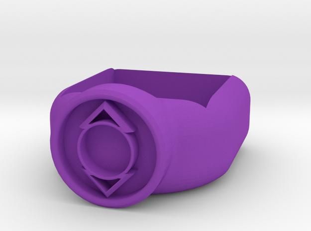 Indego Lantern Corps Chalk Holder in Purple Processed Versatile Plastic