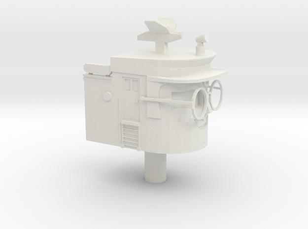 Hercules STAR TUGS Head (OO/HO 30cm Scale) in White Natural Versatile Plastic