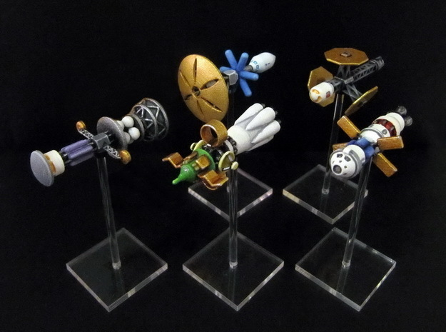 Spaceships (5 pcs) - High Frontier