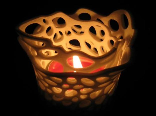 candle holder (double layered) 3d printed Description