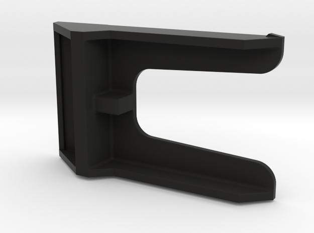 HP-71 Front Port Module modified Shelf in Black Natural Versatile Plastic