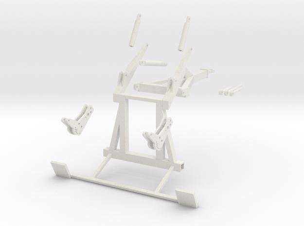 1:32 Agrisem Fahrrahmen in White Strong & Flexible