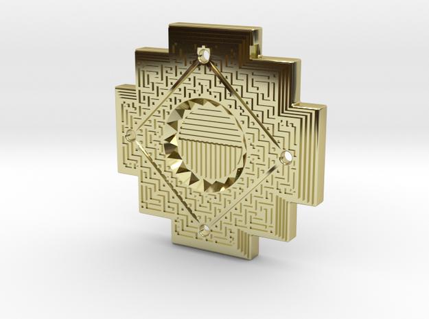 Inca Cross Amulet