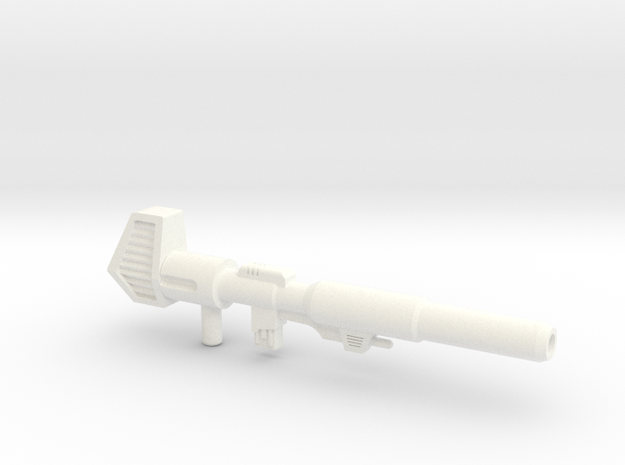 G1 Optimus Prime Blaster - 11CM version in White Strong & Flexible Polished
