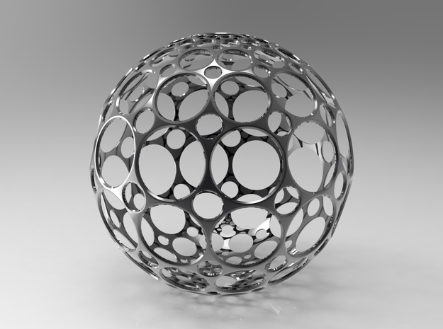 Hollow Sphere 3d printed