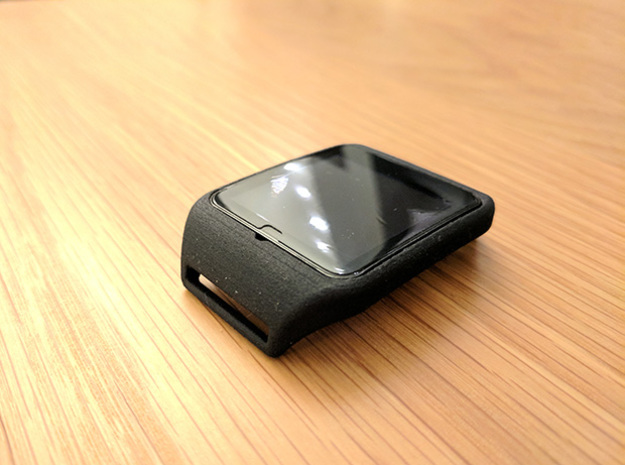 Sony Smartwatch 3 NATO 22mm adapter in Black Natural Versatile Plastic