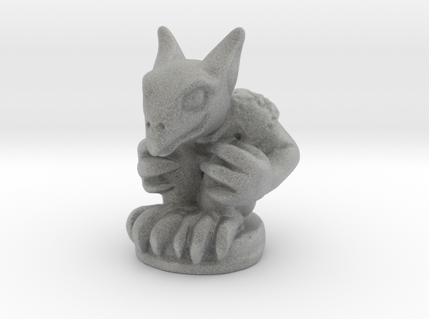 Gargoyle Guardian (Chthonic Souls Edition) in Metallic Plastic