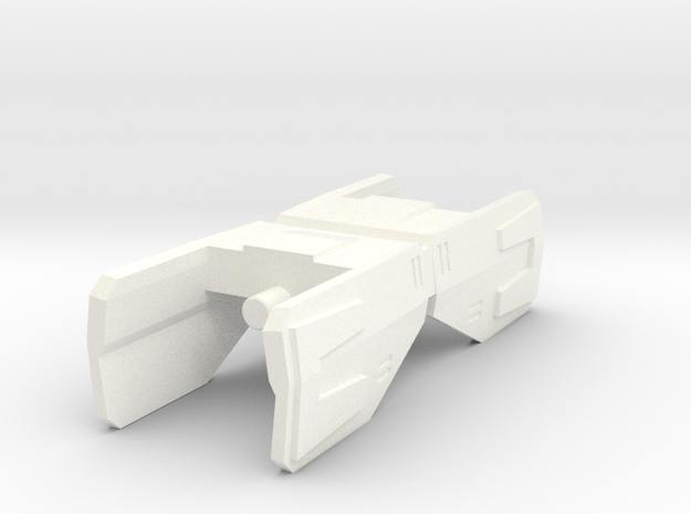 TR: PowerLord Shoulder in White Processed Versatile Plastic
