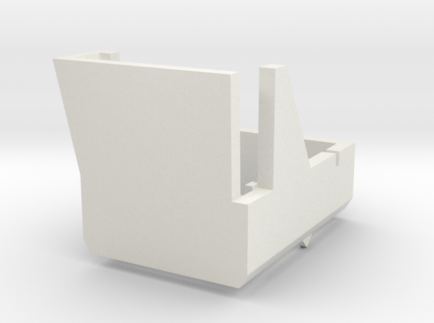 Thorens TP-63 Overhang Alignment Gauge in White Natural Versatile Plastic