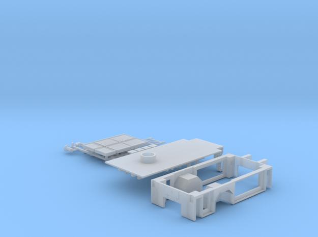 Umbausatz für DLK 23/12 ohne Riffel auf der Oberse
