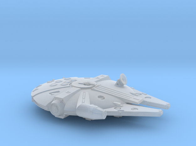 1:1200 Millenium Falcon, gear down in Smoothest Fine Detail Plastic