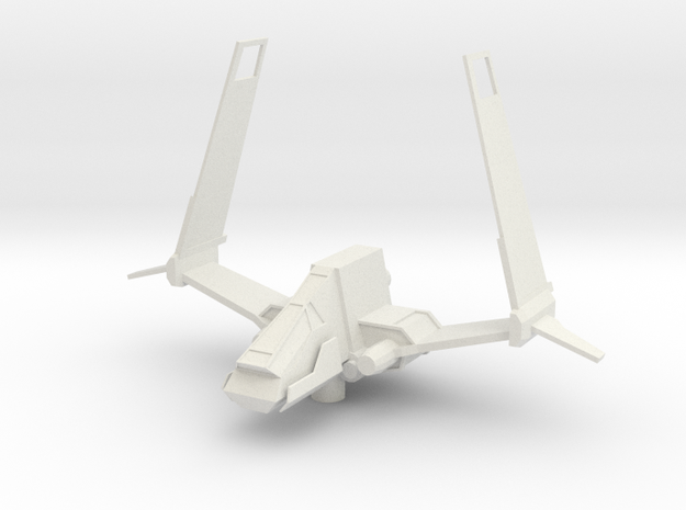 Sith Striker - Variation C  in White Natural Versatile Plastic