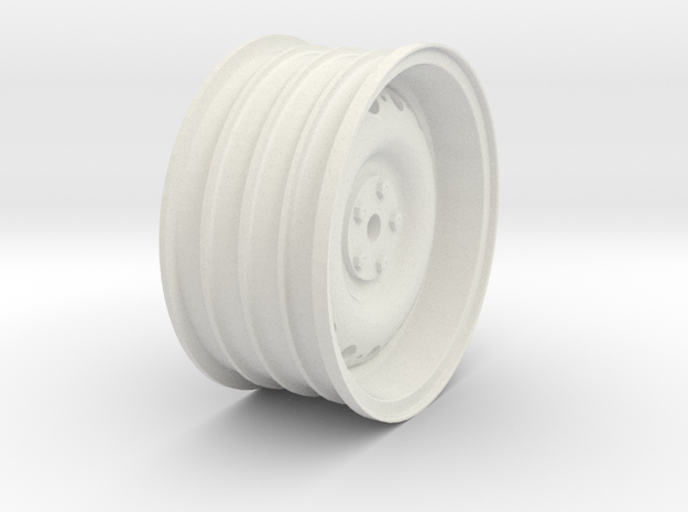REARWheel.55BS in White Natural Versatile Plastic