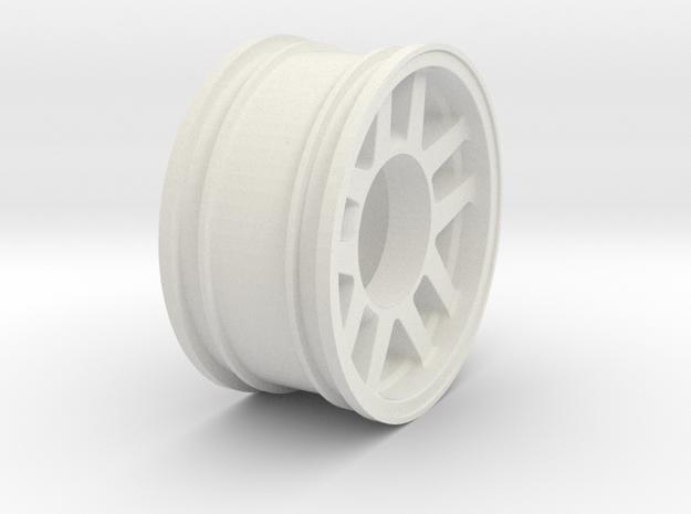 Fidget Spinner HPI Rim in White Natural Versatile Plastic