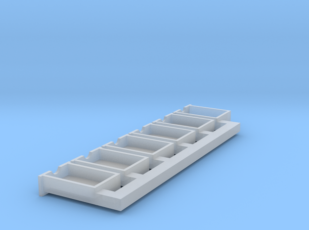HO Scale drawers (repaired) in Smoothest Fine Detail Plastic