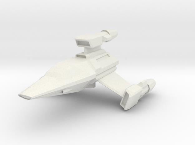 T-Wing in White Natural Versatile Plastic
