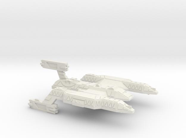 3125 Scale Lyran Wildcat Battlecruiser (BC) CVN in White Strong & Flexible