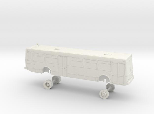 HO Scale Bus NABI 416 AC Transit 3100s in White Natural Versatile Plastic