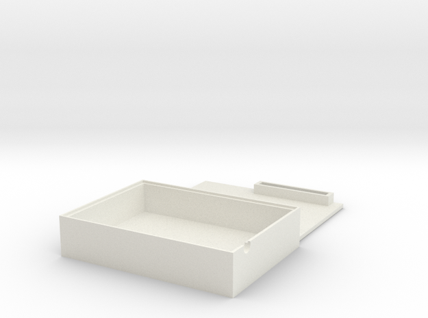Arduino Box Set in White Natural Versatile Plastic