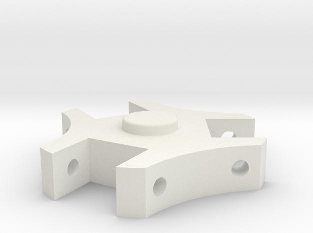 TK Grappling Hook Top V2 in White Natural Versatile Plastic