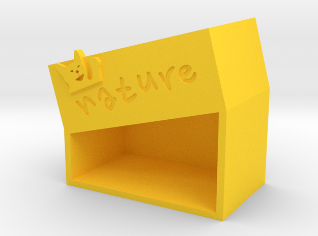 cat-b in Yellow Strong & Flexible Polished