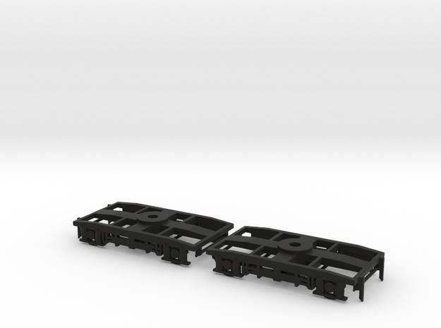 Carrello FS tipo 27A in TT in Black Natural Versatile Plastic