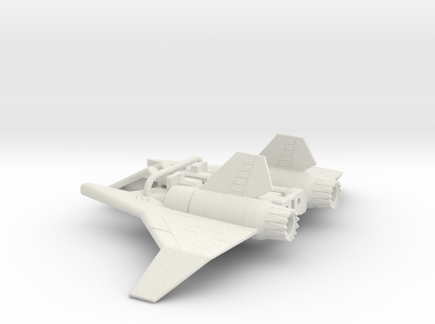 Ramjet wings for CW Air Raid in White Strong & Flexible