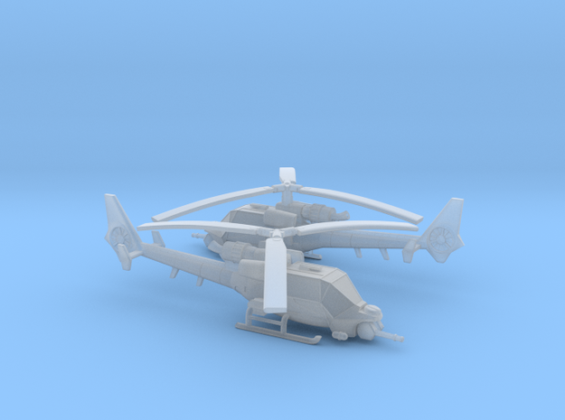 035G Modified Gazelle Horizontal Cannon Pair 1/285