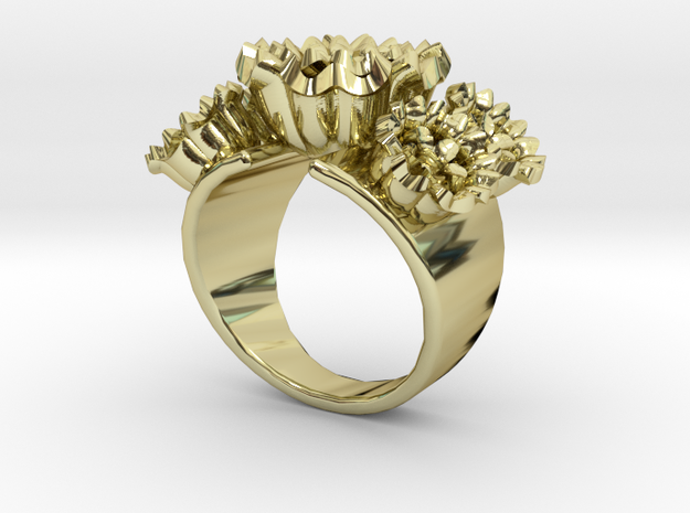 Frida Ring in 18k Gold Plated: 7 / 54