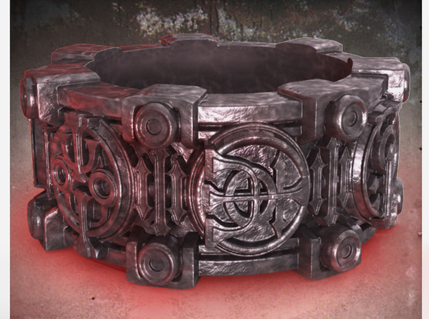 Alchemical Sigil Ring (US Size 11) 3d printed