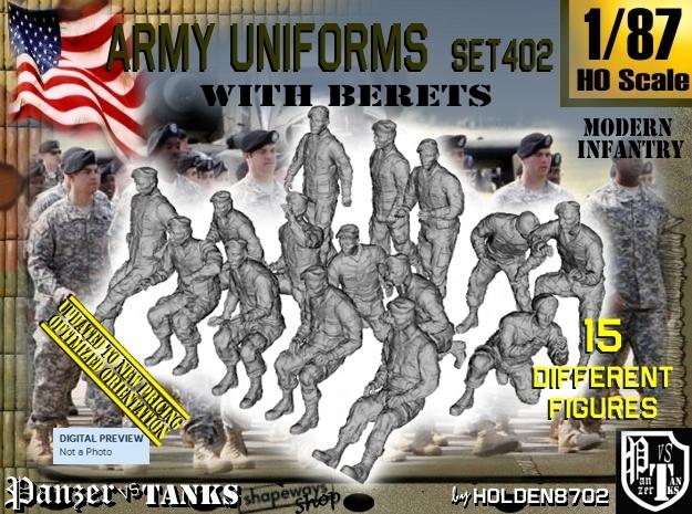 1/87 Modern Uniforms Berets Set402