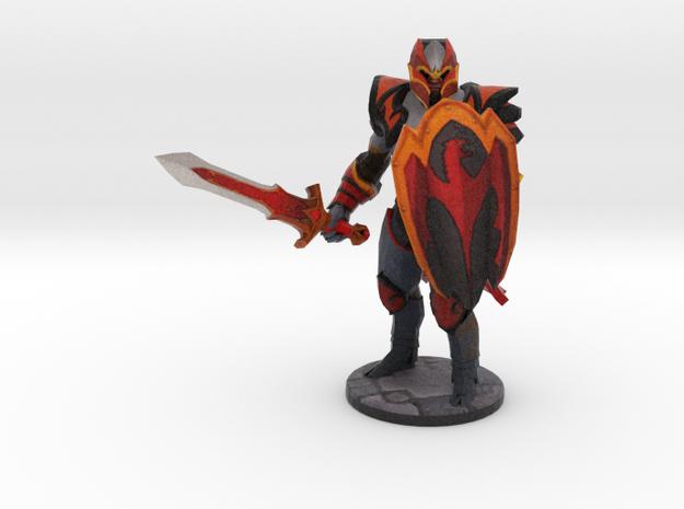 Dragon-Knight in Full Color Sandstone