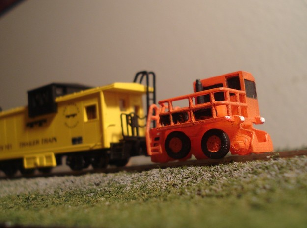RailKing RK275 Rail Car Mover - N Scale in Frosted Ultra Detail