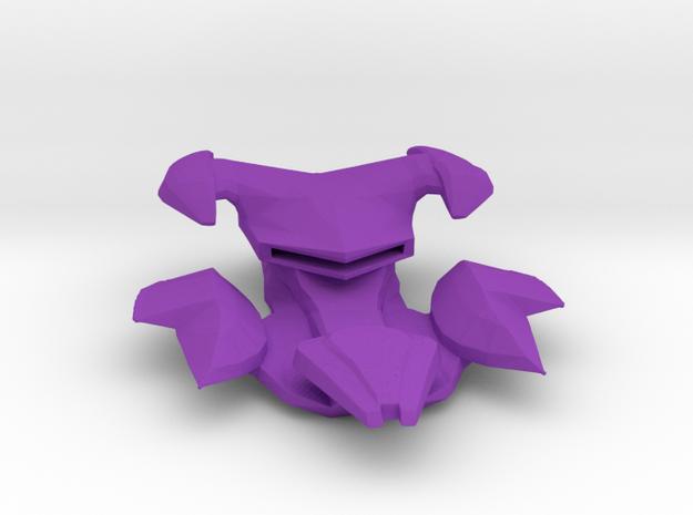 Dominion Jem'hadar Supercarrier 1:7000 in Purple Processed Versatile Plastic