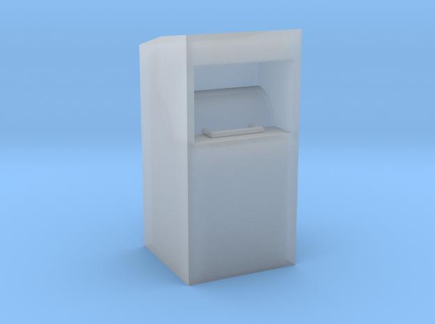Altkleidercontainer in 1:120 TT in Smooth Fine Detail Plastic