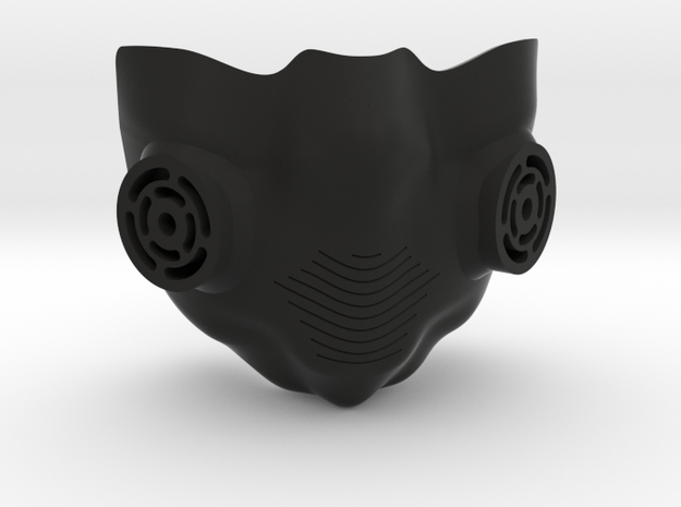 breathing mask in Black Strong & Flexible