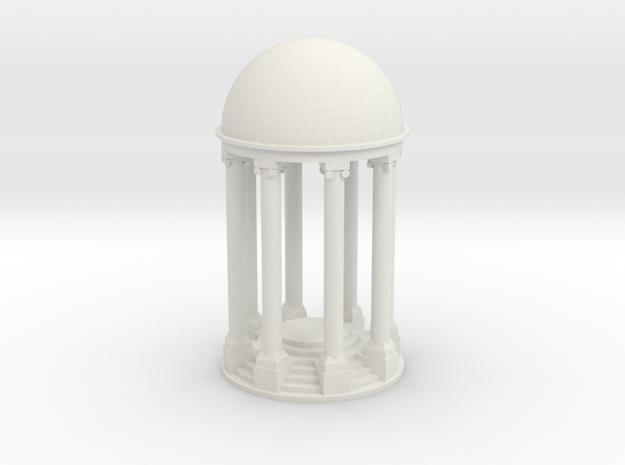 Tempel V2 (89mm) - 1:120 in White Natural Versatile Plastic