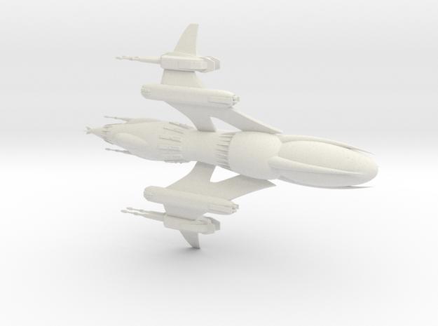 Drazi Freehold - Firebird in White Natural Versatile Plastic