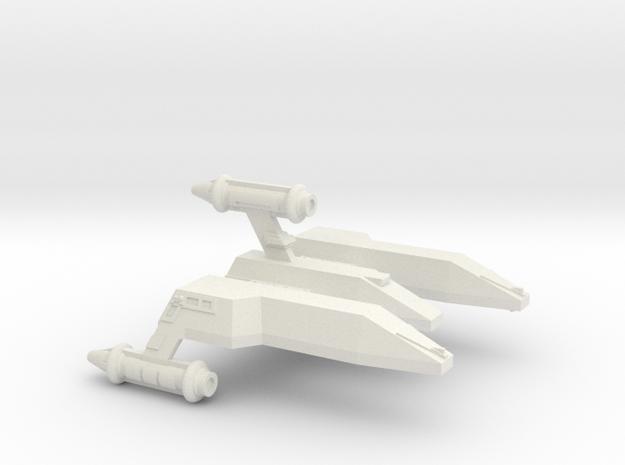 3125 Scale LDR War Cruiser (CW) CVN in White Natural Versatile Plastic