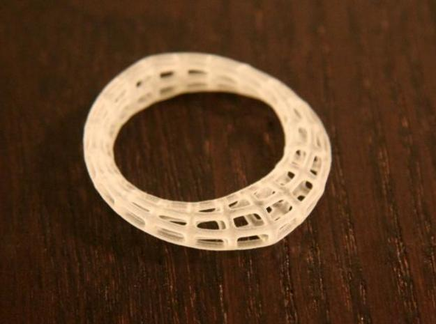 Wireframe  Mobius Strip 3d printed Description