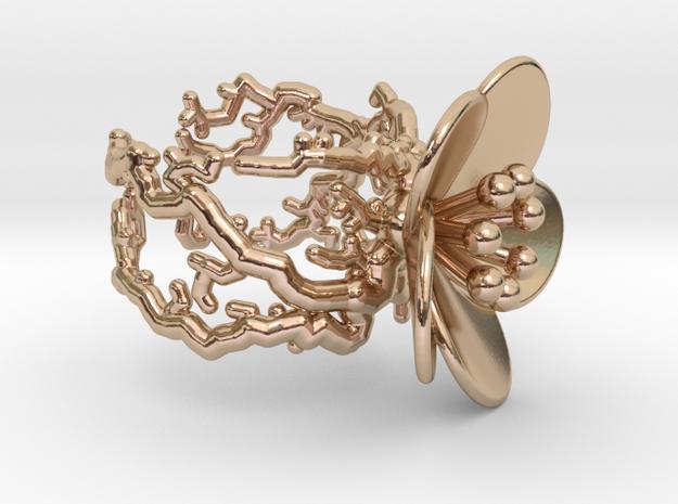 Flower ring (US sizes 5.75 – 9.75)