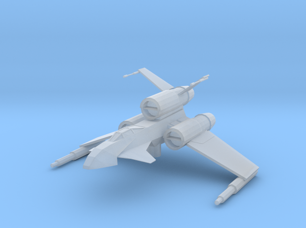 Raven-class Bomber in Frosted Ultra Detail